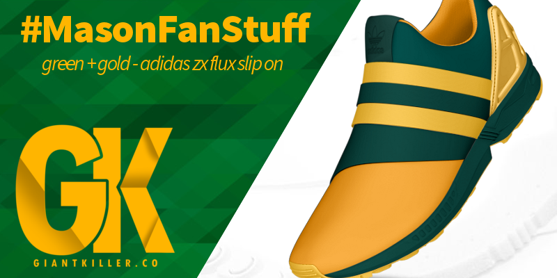 Mason Fan Stuff - Adidas ZX Flux Slip On Green Gold