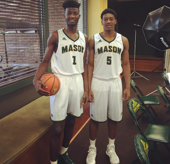 George Mason Uniforms 2015-2016 Adidas Jaire Grayer DeAndre Abram