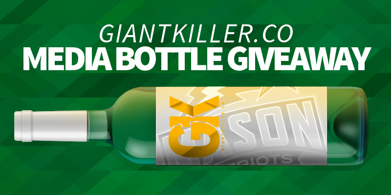 media bottle giveaway