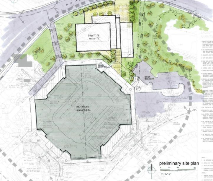 2012 George Mason Basketball Practice Facility Location