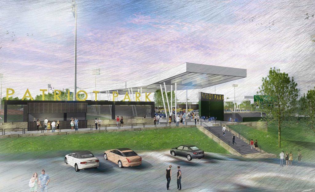 George Mason Patriot Park Stadium 2